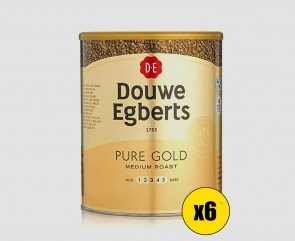 Douwe Egberts Pure Gold Medium Roast Coffee (6 x 750g tin)